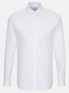 Seidensticker Easy Iron Uni Light Business Kent Shirt White