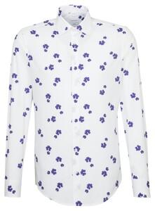 Seidensticker Fantasy Business Kent Shirt Lilac