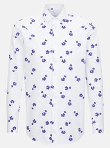 Seidensticker Fantasy Contrast Shirt Lilac