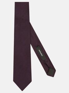 Seidensticker Large Herringbone Tie Das Merlot