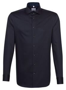 Seidensticker Multi Dot Light Spread Kent Overhemd Merlot