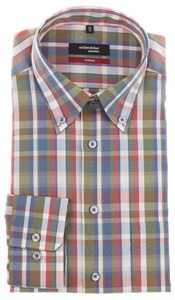 Seidensticker Multicolor Fresh Check Shirt Multicolor