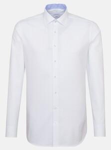 Seidensticker Oxford Fine Dot Shirt Deep Intense Blue
