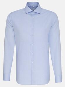 Seidensticker Oxford Uni Spread Kent Shirt Blue