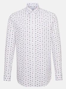 Seidensticker Poplin Fantasy Pattern Shirt Rose