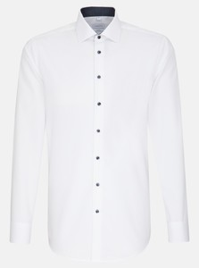 Seidensticker Poplin Non Iron Business Kent Shirt White