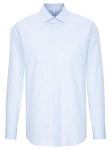 Seidensticker Seidensticker - Overhemd LSL MF - 01.196180 -  Shirt Blue
