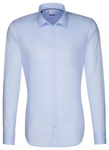 Seidensticker Seidensticker Uni X-Slim Overhemd Aqua Blue