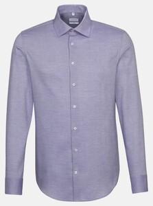 Seidensticker Structure Faux Uni Shirt Lilac