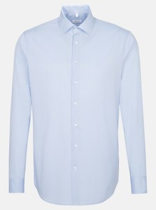 Seidensticker Uni Kent Slim Fit Shirt Light Blue