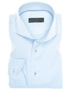 John Miller Luxury Plain Non-Iron Twill Licht Blauw