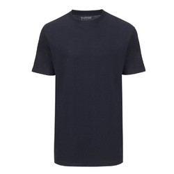 Slater Basic 2-pack T-shirt Round-Neck T-Shirt Navy