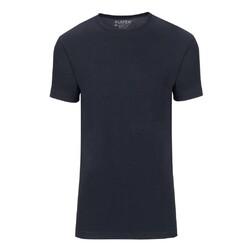Slater Basic Fit Extra Long 2-pack T-shirt T-Shirt Navy