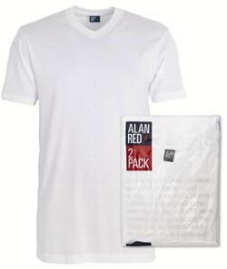 Alan Red West Virgina 2-Pack White