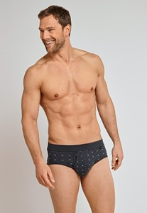 Schiesser Original Classics Feinripp Sports Brief Graphite Grey