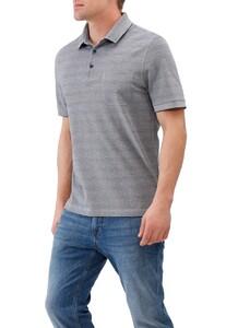 Maerz Subtle Stripe Shirt Navy
