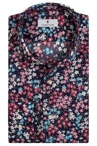 Thomas Maine Bari Cutaway Multi Flower Fantasy by Liberty Shirt Pink