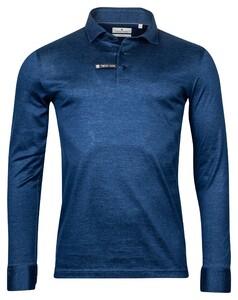 Thomas Maine Long Sleeve Vanise Jersey Polo Navy