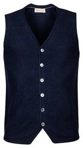 Thomas Maine Milano Knit Gilet Navy