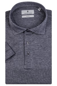 Thomas Maine Pisa Micro Structure Jersey Polo Navy