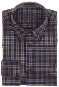 Paul & Shark NYC Yacht Club Black Check Zwart