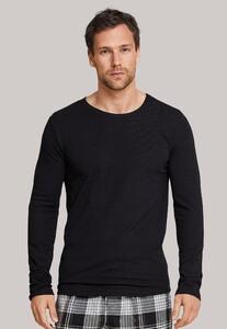 Schiesser Mix & Relax T-Shirt Ronde Hals Antraciet