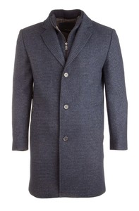 Roy Robson Fine Structured Blue-Blue Coat Navy