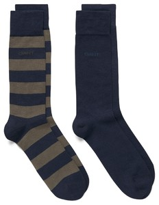 Gant 2Pack Bar Stripe Kalamata Green