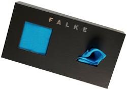 Falke Giftbox Airport met Pochet Turquoise