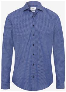 Brax Harold Mini Pattern Blauw