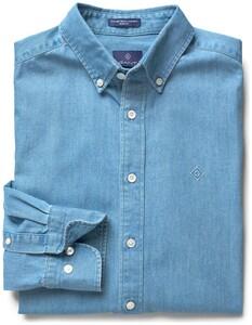 Gant Tech Prep Chambray Shirt Indigo