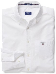 Gant The Oxford Shirt Wit
