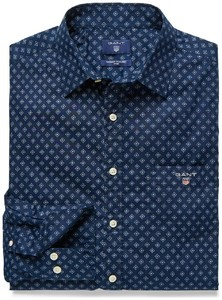 Gant Foulard Print Fitted Shirt Navy
