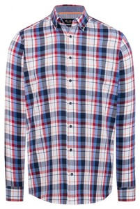 Maerz Multicolor Check Shirt Cayenne