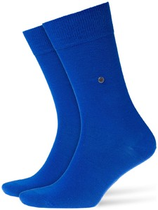 Burlington Lord Socks Diep Blauw