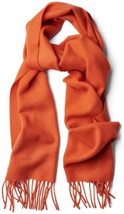 Gant Lamswollen Sjaal Burnt Ochre