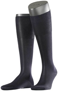Falke No. 4 Pure Silk Knee High Navy
