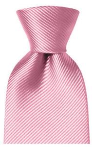 Hemley Uni Zijden Stropdas Roze
