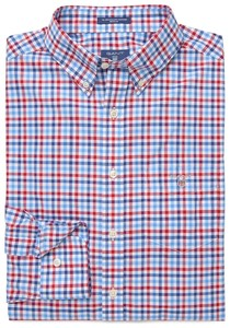 Gant The Broadcloth 3 Color Gingham Rood