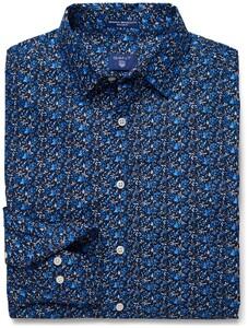 Gant Gant Flower Donker Blauw