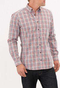 Maerz Check Shirt Flame