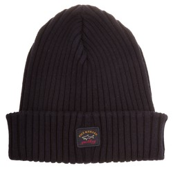 Paul & Shark Bretagne Plain Knitted Cap Navy