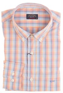 Paul & Shark Multicolor Fine Check Rood