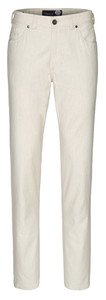 Gardeur Nevio Regular-Fit Summer 5-Pocket Off White