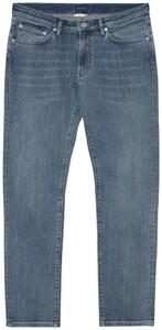 Gant Slim Straight Jeans Semi Light Blue Broken In