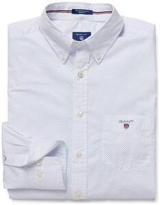 Gant Dotted Shirt Lavendel Blauw