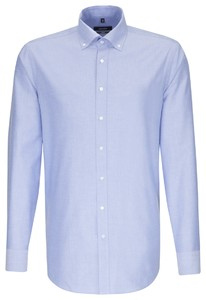 Seidensticker Comfort New Button Down Deep Intense Blue