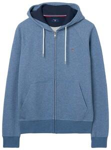 Gant Gant Original Full Zip Sweat Hoodie Denim Blue