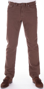 Gardeur Modern Rustic Cotton Stretch Mid Brown