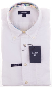 Gant Color Oxford Wit